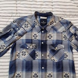 American Eagle long sleeve flannel